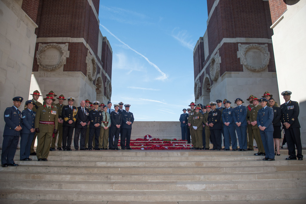 NZDF participation in Royal British Legion's Thiepval 141 service.